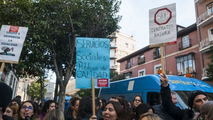 Trabajadores de Samur Social emprenden un paro de 24 horas