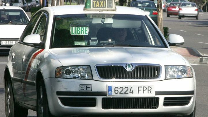 El evento 'Taxi luz' ha provocado el malestar de los taxistas sobre la postura del Ayuntamiento.