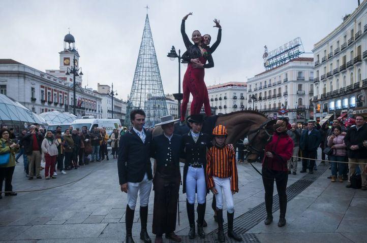 Presentación de IFEMA Madrid Horse Week 2019 en la Puerta del Sol