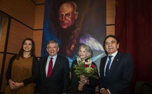 La UAX reinaugura el auditorio de la Facultad de Música con el nombre de Yehudi Menuhin