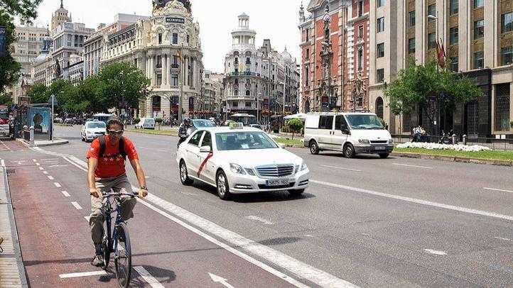 La Castellana tendrá un carril bici segregado antes de 2023