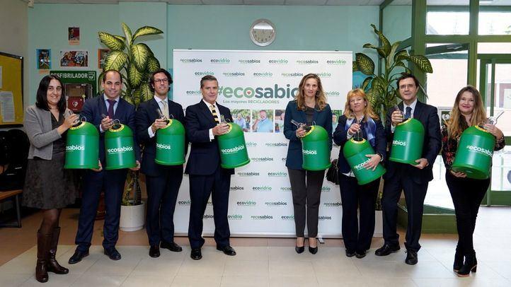 Ecovidrio y la Comunidad de Madrid presentan #Ecosabios, un voluntariado ambiental pionero liderado por mayores de 60 años