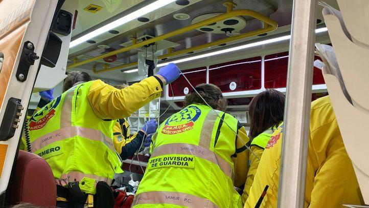 Herido grave un peatón arrollado en Chamberí