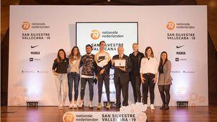 Rueda de prensa de la Nationale nedernalden San Silvestre Vallecana