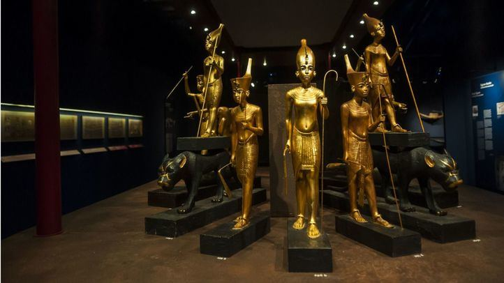 Los tesoros de la tumba de Tutankhamón, en Ifema