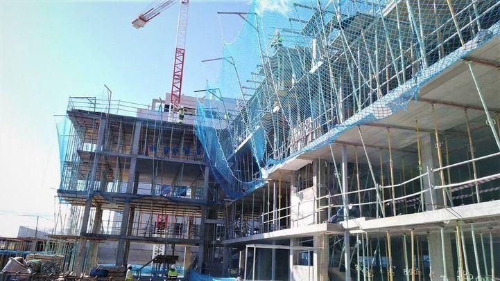 Estado de las obras de la promoción Fineo de AEDAS Homes en San Sebastián de los Reyes