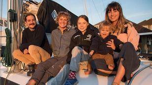 Greta Thunberg ha cruzado el Atlántico en catamarán para llegar a la COP25 en Madrid