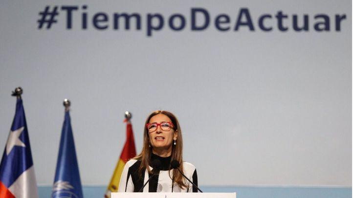 Carolina Schmidt Zaldívar, presidenta de la COP25