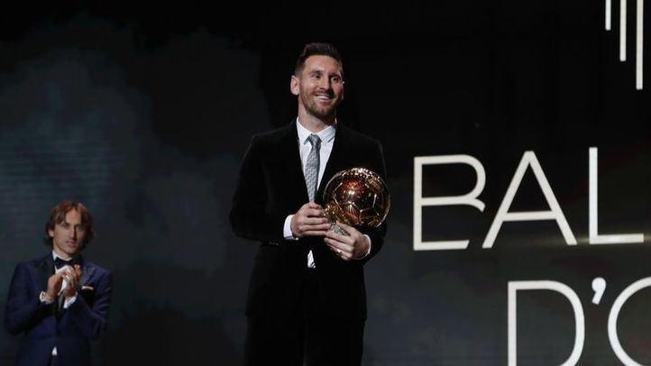 Messi gana de nuevo el Balón de Oro