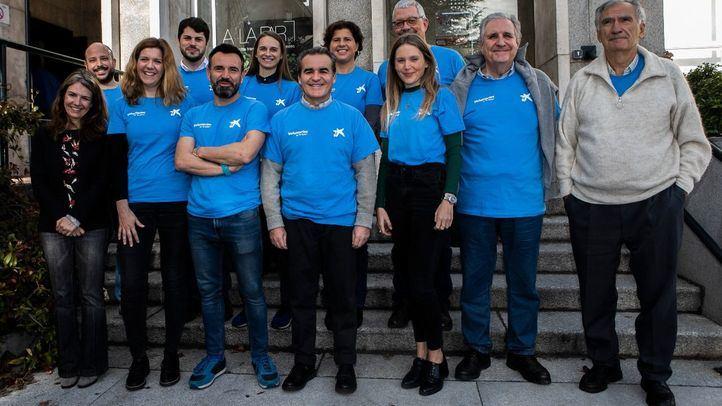 Los accionistas de CaixaBank, voluntarios en la Fundación A La Par