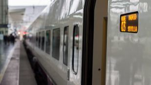 Tren de Renfe en la Estación de Atocha