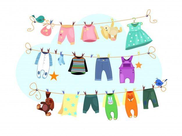 Sellos infantiles para marcar ropa