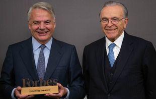 Ignacio Garralda recibe el Premio Forbes a la Filantropía