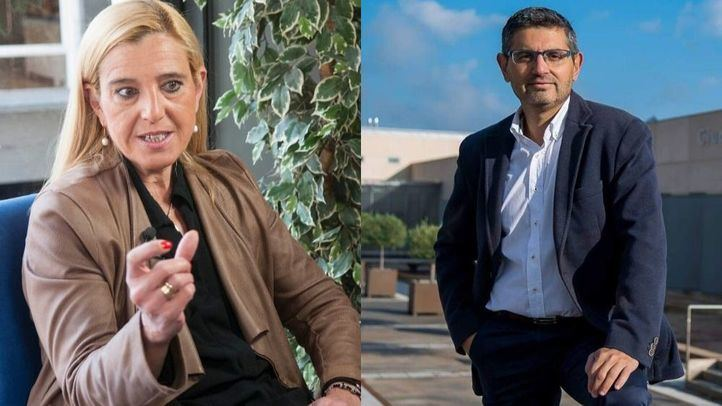 El alcalde de Alcobendas y la alcaldesa de Collado Villalba, esta tarde en Onda Madrid