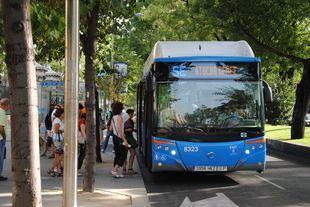 El carril bus adicional del Paseo del Prado vuelve a ser para los coches