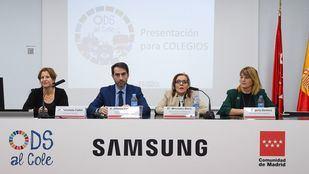 La Comunidad de Madrid, junto a Samsung e Iberdrola, acerca los ODS a los colegios madrileños