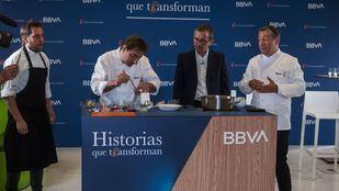 Seis estudiantes madrileños de hostelería optarán a una de las 10 becas de BBVA y El Celler de Can Roca