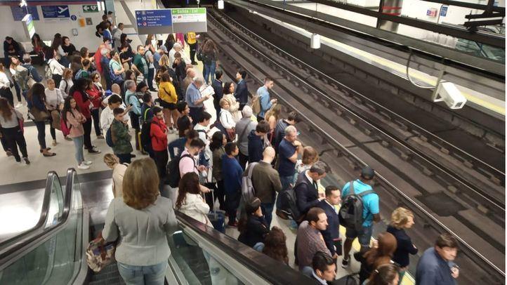 Refuerzos en Metro, EMT y Cercanías desde el puente