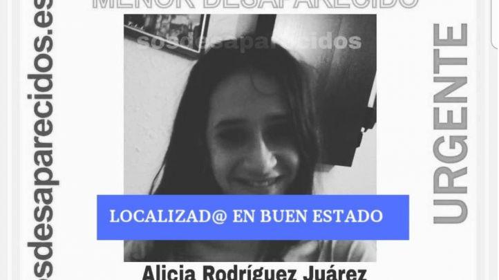 Localizada en buen estado la adolescente desaparecida en Puente de Vallecas