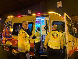 Varios heridos graves tras una colisión frontal en el distrito de Hortaleza