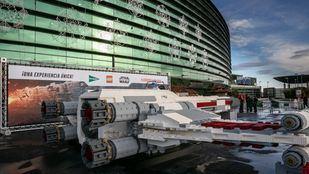 El Corte Inglés trae a España la nave X-Wing de Star Wars a tamaño real de la mano de LEGO y Disney