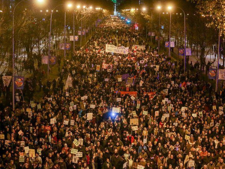 La Marcha por el Clima, en imágenes