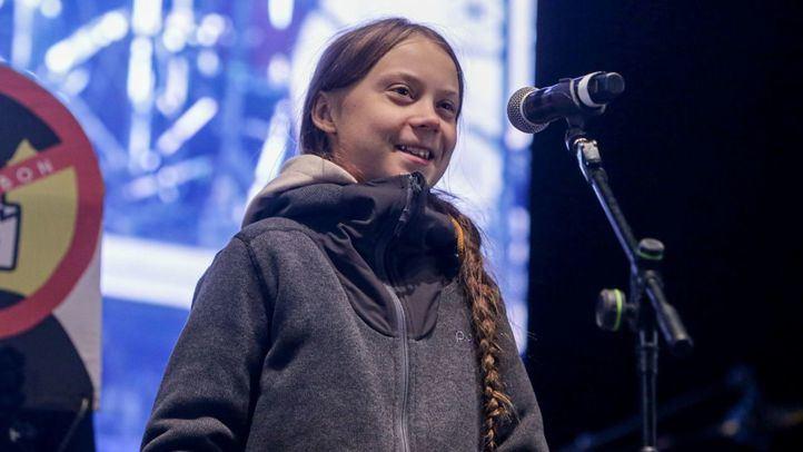 Greta Thunberg pone el broche final a la Marcha por el Clima