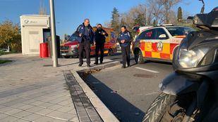 Accidente grave en la Avenida de los Poblados