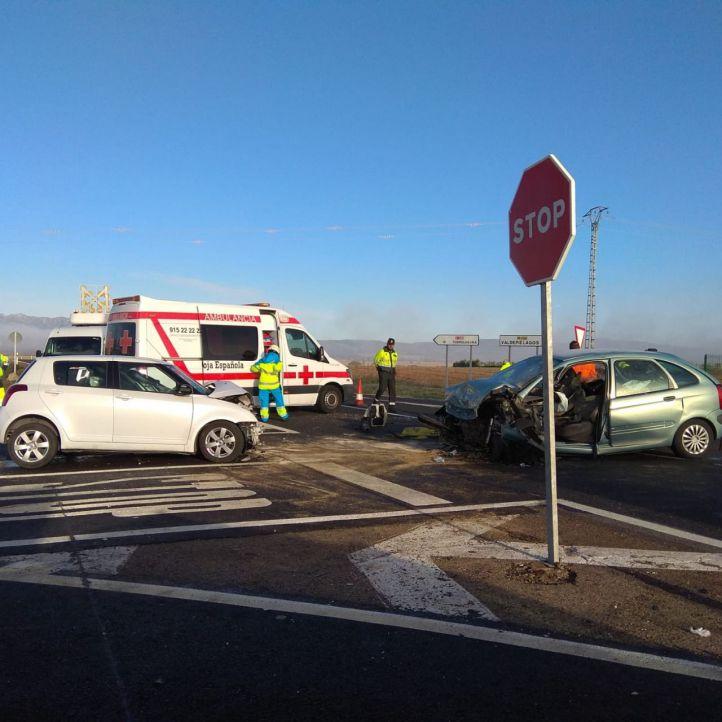 Cuatro heridos en un accidente en Talamanca del Jarama