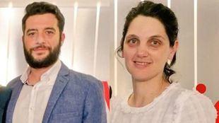 Los diputados Pilar Sánchez Acera y César Zafra.