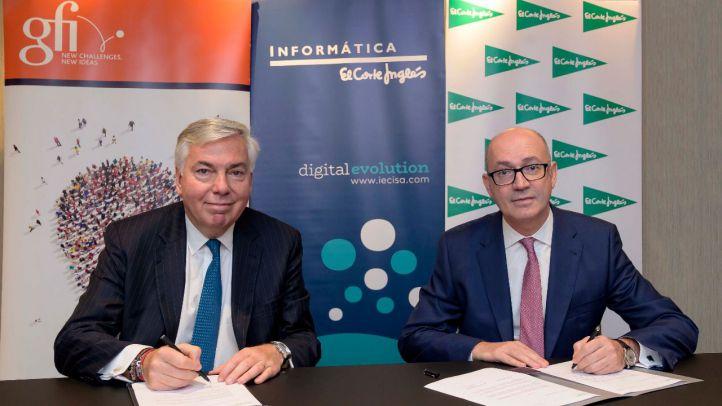 El Corte Inglés y Gfi acuerdan que Iecisa se integrare en el grupo francés para formar un nuevo líder tecnológico