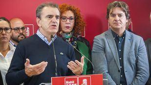 José Manuel Franco, en la sede del partido.