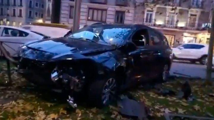 Detenido un conductor de VTC tras un presunto atropello a un motorista