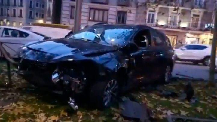 Detenido un conductor de VTC tras arrollar presuntamente a un motorista