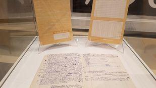 Manuscritos escritos por el Premio Nobel de Literatura adquiridos por la Universidad Camilo José Cela.