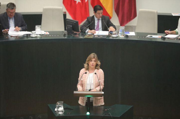 Engracia Hidalgo, concejala de Hacienda del Ayuntamiento de Madrid.