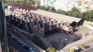 Foto de archivo de las Cocheras de Cuatro Caminos.