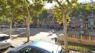Plaza de Patricio Martínez, donde tuvieron lugar los hechos