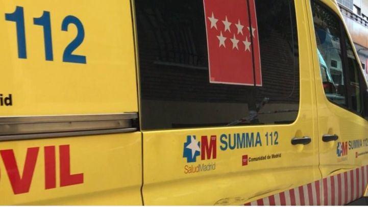 Un choque frontal deja dos heridos, uno muy grave, en San Martín de la Vega