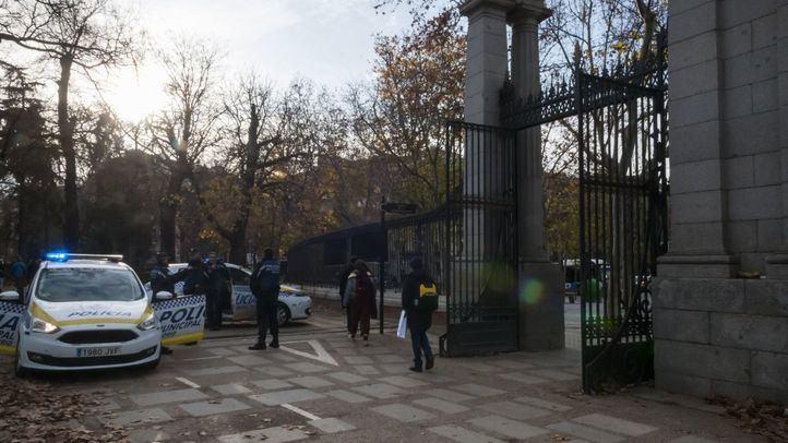 El Parque del Retiro vuelve a abrir sus puertas.