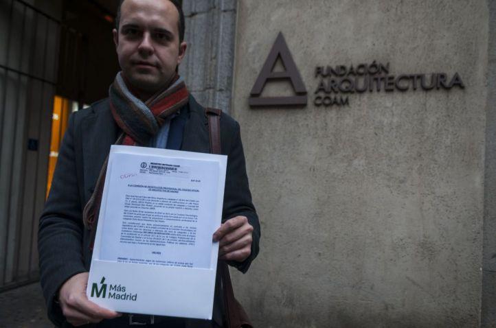Calvo recurre el archivo de su denuncia contra Monasterio por