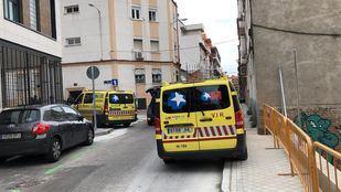 Los servicios de emergencias en el lugar del macabro suceso.