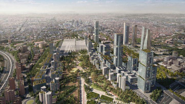 Las obras de Madrid Nuevo Norte empezarán en 2020 al llegar ya el último informe