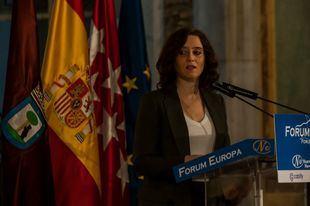 Ayuso afea a Sánchez pactar con 'ideologías radicalmente reaccionarias y racistas'