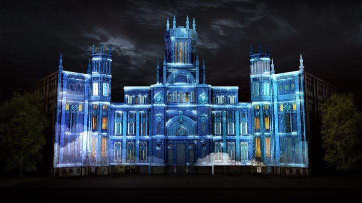 El Palacio de Cibeles se transformará varias veces durante el espectáculo de este sábado