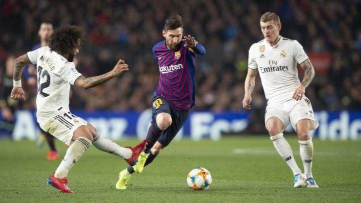 El Barça y el Real Madrid, ante un clásico decisivo