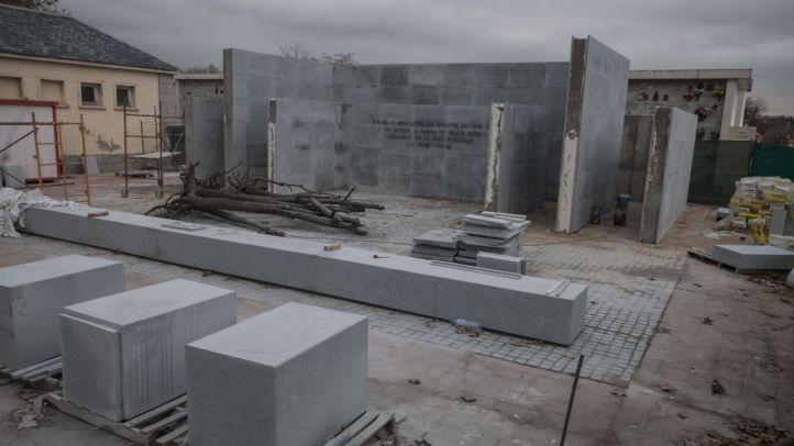 El nuevo memorial de La Almudena se deja ver, sin distinciones sobre las víctimas