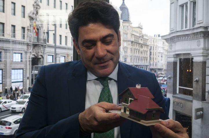 """David Pérez: """"Confío en la responsabilidad de Vox y en su sensatez"""""""