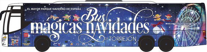 Arranca el bus de las Mágicas Navidades de Torrejón de Ardoz