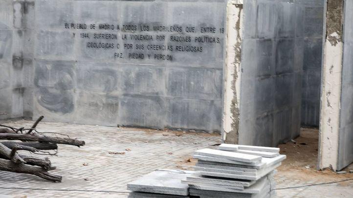Archivada la denuncia contra el Ayuntamiento por retirar el memorial de La Almudena